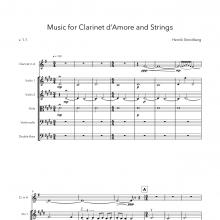 Music for Clarinet d'Amore and Strings